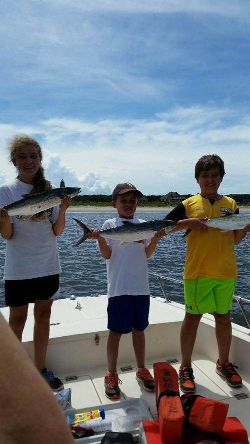Kids catch children 39 s fishing charter oak island fishing for Oak island fishing charters