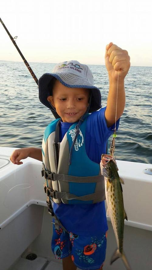 Kids catch children 39 s fishing charter oak island fishing for Oak island fishing report