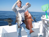 oak island fishing charters double header