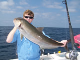Amberjack fishing off Southport NC
