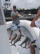 bald head isand amberjack fishing