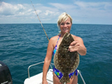 bald head island backwater flounder fishing