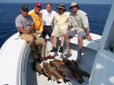 full limit of big grouper fishing oak island nc