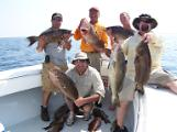 limit of monster scamp grouper fishing oak island nc bald head island nc