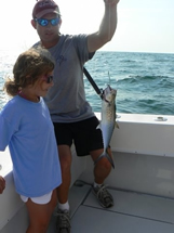 oak island fishing with kids