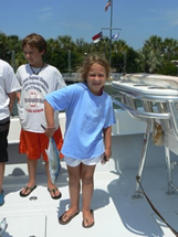 bald head island fishing kids