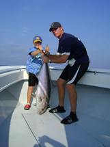kids big oak island amberjack